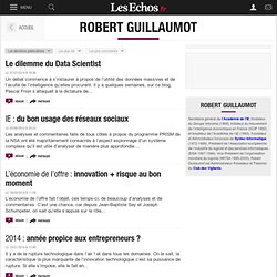 Robert Guillaumot - Blogs - Les Echos