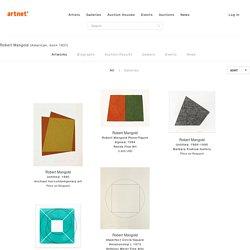 Robert Mangold on artnet