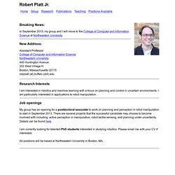 Robert Platt Jr.