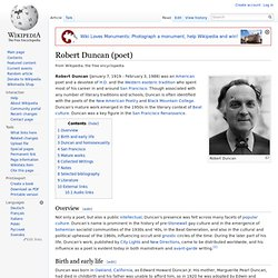 Robert Duncan (poet)