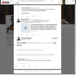 "Gordon Freeman on Twitter: ""what might @robertofoa @yascha_mounk say about:  #maagdenhuis #DemocraticDeconsolidation"