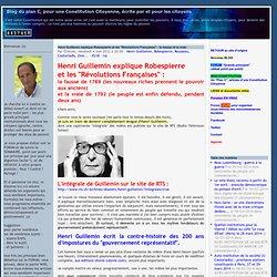 Blog d'Etienne Chouard