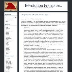 Robespierre contre le décret dit du marc d'argent