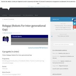 Rivista Bricks: Robgap (Robots For Inter-generational Gap)