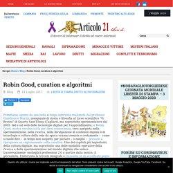Robin Good, curation e algoritmi