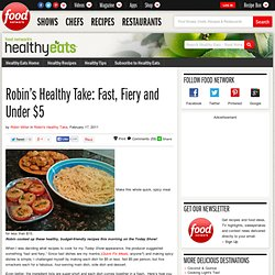 Healthy Eats – Food Network Healthy Living Blog & Archive & R...