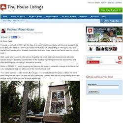 Robin's Micro House