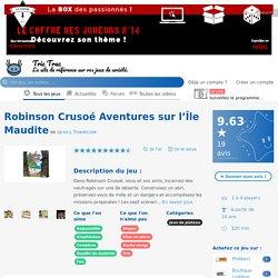 Robinson Crusoé Aventures sur l'Île Maudite - Détails - Un jeu de Ignacy Trzewiczek