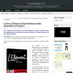 Le livre L'élément de Ken Robinson enfin disponible en français !
