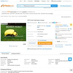 2012 Mini Robit Lawn Mower - Buy Robot Mower,Brush Cutter,Grass Cutter Blade Product on Alibaba