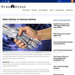 Robo Adviser vs Human Adviser