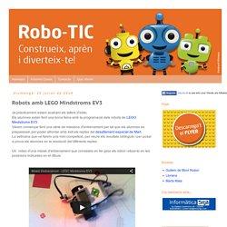 Robo-TIC: Robots amb LEGO Mindstroms EV3