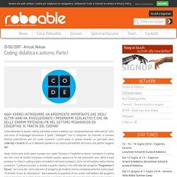 Roboable - Coding, didattica e autismo. Parte I