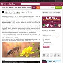 [PUB]RoboBees : des robots pour remplacer les abeilles