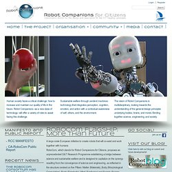 RoboCom Flagship: More than Future | CA-RoboCom