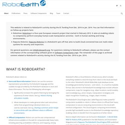 What is RoboEarth ?