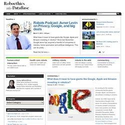 Roboethics(Robot Ethics) Info Database