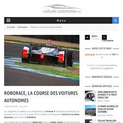 Roborace, la course des voitures autonomes électriques