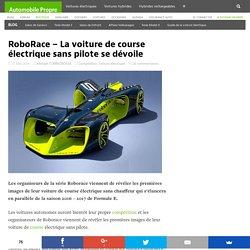 RoboRace – La voiture de course électrique sans pilote se dévoile