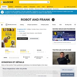 Robot and Frank - film 2012