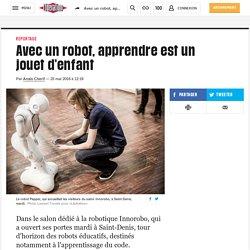 Avec un robot, apprendre est un jouet d'enfant