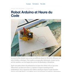 Robot Arduino et Heure du Code – blog.animtic