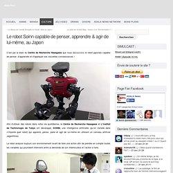 Le robot Soinn capable de penser, apprendre & agir de lui-même, au Japon