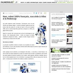 Nao, robot 100% français, succède à Aïbo à la Robocup