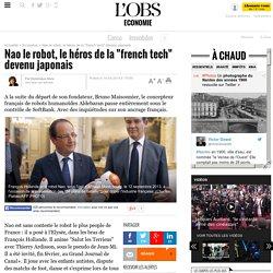 """Nao le robot, le héros de la """"french tech"""" devenu japonais"""