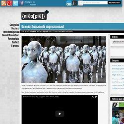 Un robot humanoïde impressionnant