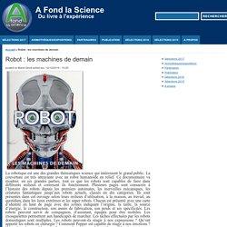Robot: les machines de demain