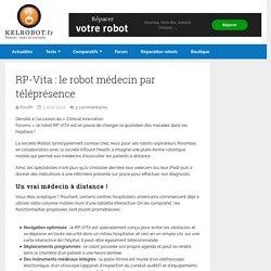 RP-Vita : le robot médecin par téléprésence
