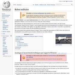Robot militaire