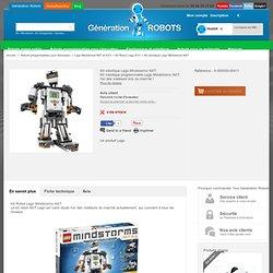 Robot NXT Lego: le kit robot NXT Lego, l'un des plus forts du marché