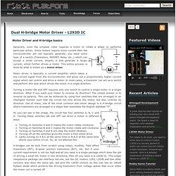 Motor Driver - L293D - 1