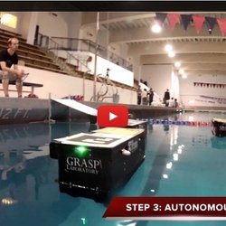 Robot Boats Rescue Mission