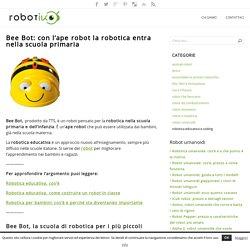 Bee Bot, l'ape robot per la robotica nella scuola primaria
