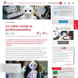 Le robot social se professionnalise