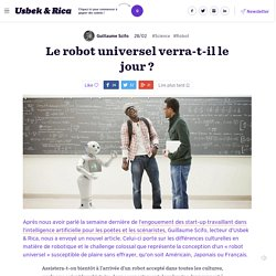 Le robot universel verra-t-il le jour ?