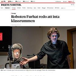 Roboten Furhat redo att inta klassrummen