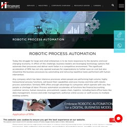 Robotic Process Automation, RPA, Digital Managed Services