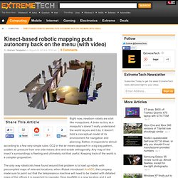 Kinect-based robotic mapping puts autonomy back on the menu (with video)