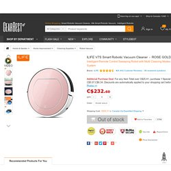 ILIFE V7S Pro Smart Robotic Vacuum Cleaner-195.99 Online Shopping