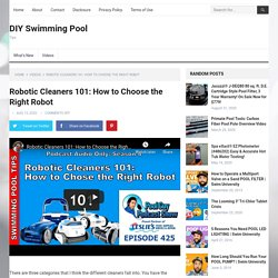 Robotic Cleaners 101: How to Choose the Right Robot