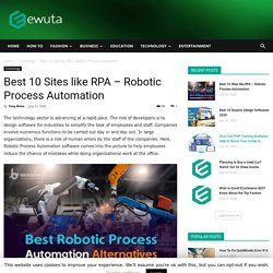 Best 10 Sites like RPA - Robotic Process Automation