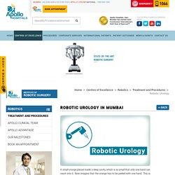 Robotic Urology in Mumbai - Apollo Hospitals Mumbai