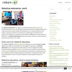 Robotica educativa: cos'è