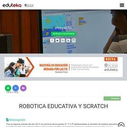 ROBOTICA EDUCATIVA Y SCRATCH
