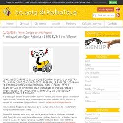 Scuola di Robotica - Primi passi con Open Roberta e LEGO EV3: il line follower