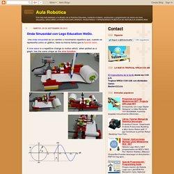 Aula Robótica: Onda Sinusoidal con Lego Education WeDo.